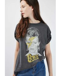 TOPSHOP | Multicolor Bowie Tee By And Finally | Lyst