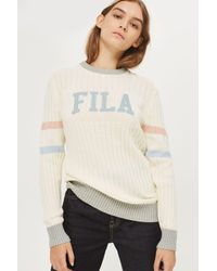 Fila - Multicolor Knitted Crew Neck Jumper By - Lyst