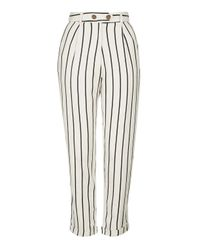 TOPSHOP | Multicolor Striped Mensy Peg Trousers | Lyst