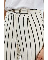 TOPSHOP - Multicolor Striped Mensy Peg Trousers - Lyst