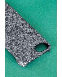 TOPSHOP - Metallic Glitter Iphone Case 5/5s - Lyst