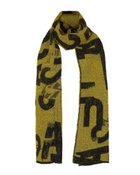TOPSHOP - Yellow Regeneration Scarf - Lyst