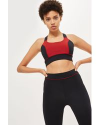 TOPSHOP - Multicolor Logo Colour Block Legging By Ivy Park - Lyst