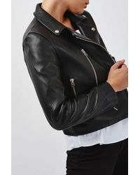 TOPSHOP | Black Ultimate Biker Jacket By Boutique | Lyst