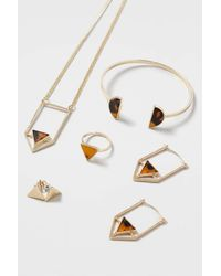 TOPSHOP | Brown Tortoise Shell Jewellery Multi-pack | Lyst