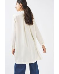 WÅVEN | Natural Super Soft Tunic In Cream By | Lyst