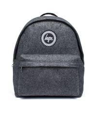 Hype - Gray Grey Wool Backpack By - Lyst