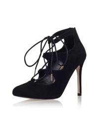 TOPSHOP - Audrina Black High Heel Sandal By Carvela Kurt Geiger - Lyst