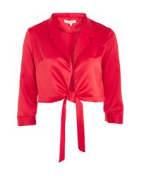 Wyldr - Forever Lost Red Corvette Blouse By - Lyst