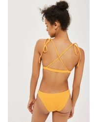 Minimale Animale - Orange Bikini Bottoms By Minimale Animale - Lyst