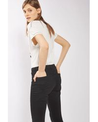 """TOPSHOP - Tall 36"""" Black Leigh Jeans - Lyst"""
