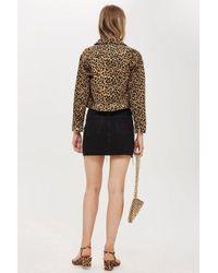 TOPSHOP - Multicolor Denim Mini Skirt - Lyst