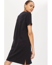 CALVIN KLEIN 205W39NYC - Black Calvin Klein Jeans T-shirt Dress - Lyst
