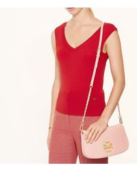 Tory Burch - Natural Britten Clutch - Lyst