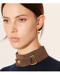 Tory Burch - Metallic Logo Bead Ear Jacket - Lyst