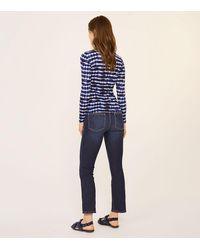 Tory Burch | Blue Beverly T-shirt | Lyst
