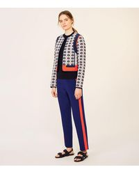 Tory Burch - Blue Rainford Jacket - Lyst