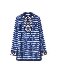 Tory Burch | Blue Tory Tunic | Lyst