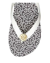 Tory Burch | White Thin Flip-flop | Lyst