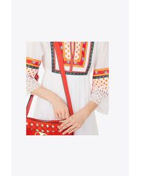 Tory Burch - White Annalise Peasant Dress - Lyst