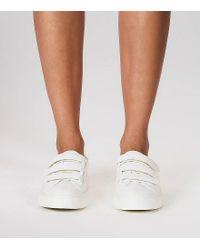 Tory Burch - White Triple-strap Sneakers - Lyst