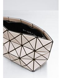 Bao Bao Issey Miyake | Natural Beige Prism Shiny Small Pouch | Lyst