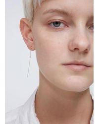 Wwake - Multicolor Two-stone Drop Earrings - Lyst