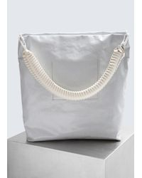 Rick Owens - White Fabric Cargo Bag - Lyst