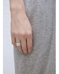 Sophie Buhai - Metallic Sterling Silver Stacking Rings - Lyst