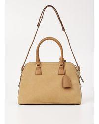 Maison Margiela - Natural Camel Small Suede 5ac Handbag - Lyst