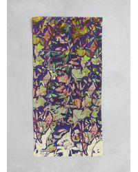 Anntian - Multicolor Print G Silk Scarf Print G - Lyst