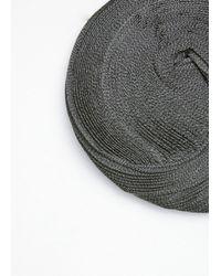 Issey Miyake - Gray Grey-black Orbit Hat - Lyst