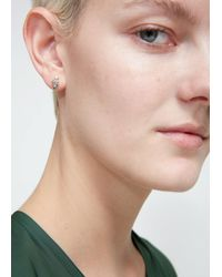 Wwake - Multicolor Curved Earrings - Lyst