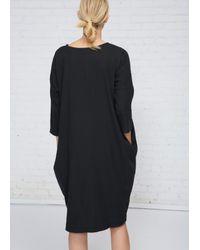 Black Crane   Black Bud Dress   Lyst