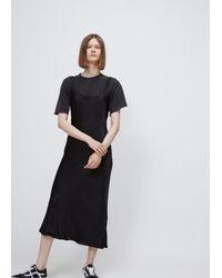 Protagonist - Black Bias Tank Dress - Lyst