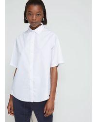 Ports 1961 White Short Sleeve Shirt