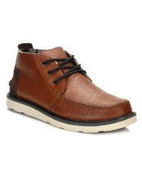 TOMS | Mens Brown Chukka Boots for Men | Lyst
