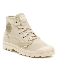 Palladium - Natural Pampa Ankle Boots - Lyst