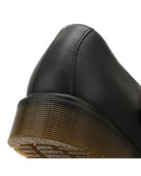 Dr. Martens - Dr. Martens Womens Black Virginia Polley Shoes - Lyst