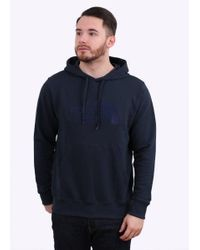 The North Face - Blue Light Drew Peak Hoodie for Men - Lyst
