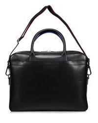 Paul Smith - Black Foglio Leather Bag for Men - Lyst