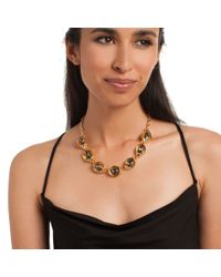 Trina Turk - Metallic Adjustable Open Link Collar Necklace - Lyst