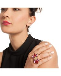 Trina Turk - Multicolor Starburst Ring - Lyst