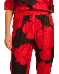 Trina Turk - Red Rosey Pant - Lyst