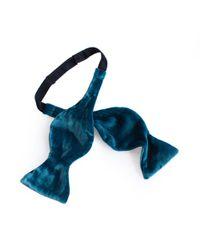 Mr Turk - Blue Velvet Bow Tie for Men - Lyst