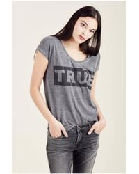 True Religion | Multicolor True Womens Tee | Lyst