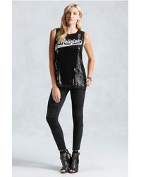 True Religion | Black Active Moto Panel Womens Pant | Lyst