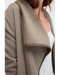 Ugg - Green Women's Fleece Blanket Cardigan - Lyst