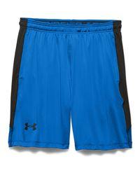 """Under Armour - Blue Men's Ua Raid 8"""" Shorts for Men - Lyst"""