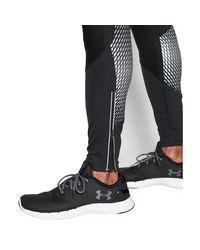 Under Armour | Black Men's Ua Storm Windstopper® Run Leggings for Men | Lyst